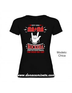 Camiseta Soy una Mamá rockera