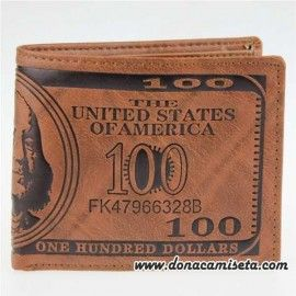 Cartera Billete Dollar