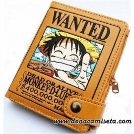 Cartera One Piece Wanted