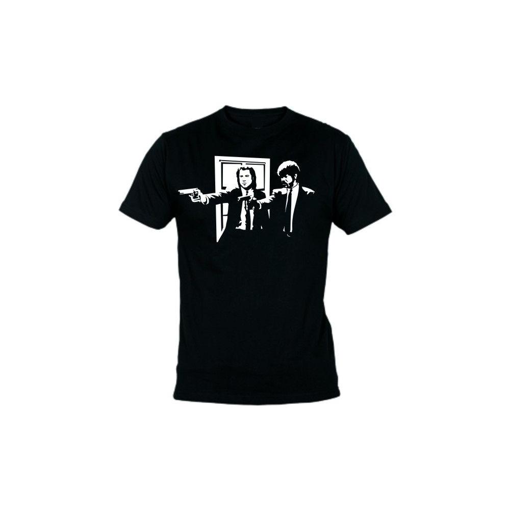 Camiseta MC Unisex Pulp Fiction