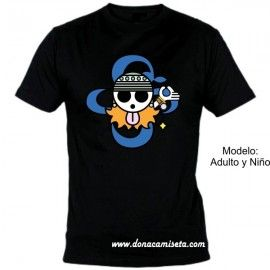 Camiseta MC Calavera Nami (One Piece)