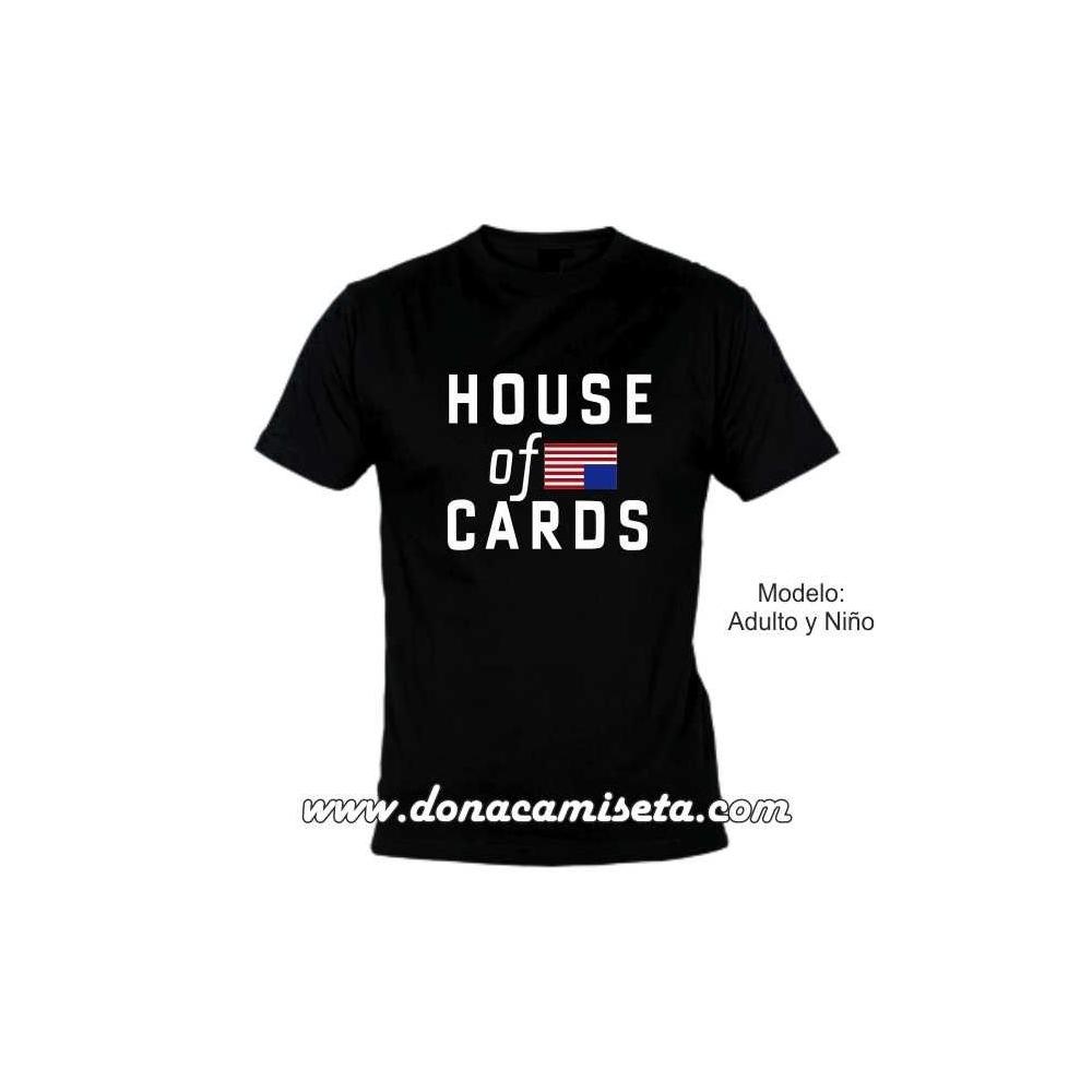 Camiseta mc House of Cards Bandera