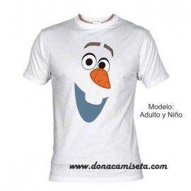 Camiseta Olaf Frozen