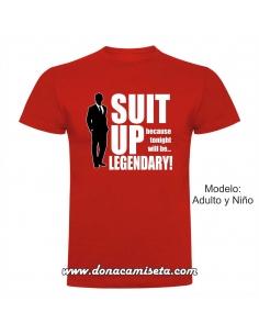 Camiseta Suit Up (How I...