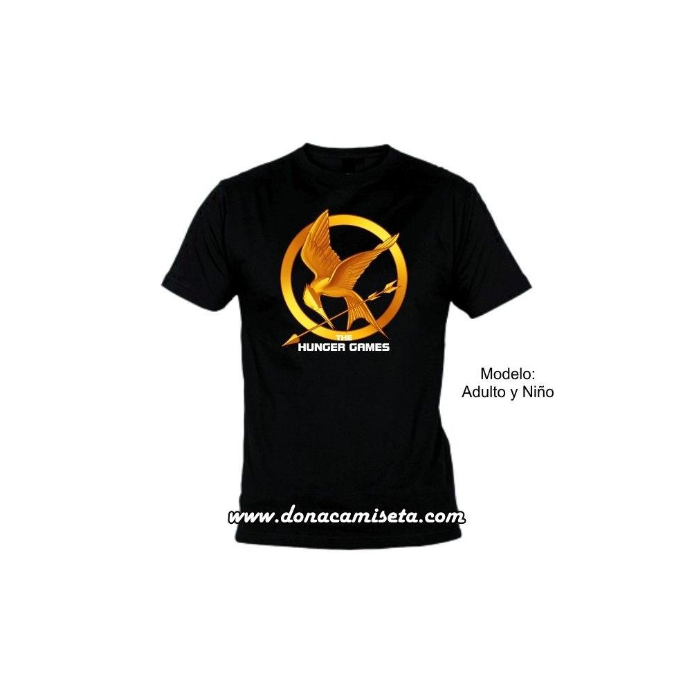 Camiseta MC Sinsajo ( Los Juegos del Hambre)