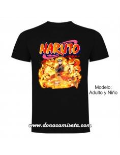 Camiseta Naruto Shippuden...