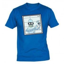 Camiseta MC Unisex Futurama Bender Foto