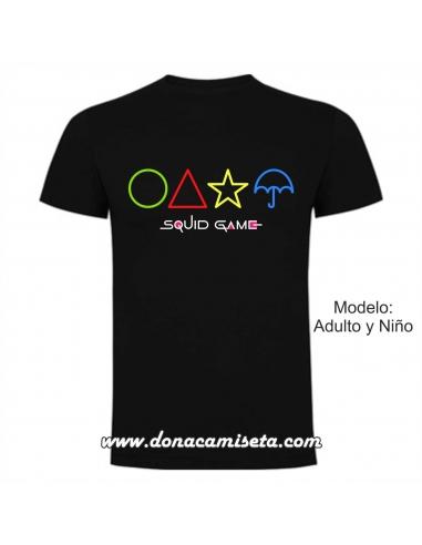 Camiseta Squid Game Galletas