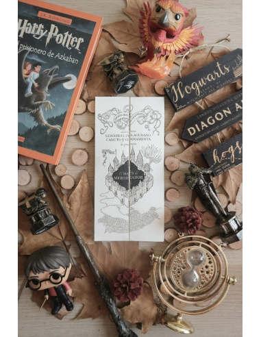 Mapa del Merodeador Harry Potter en...