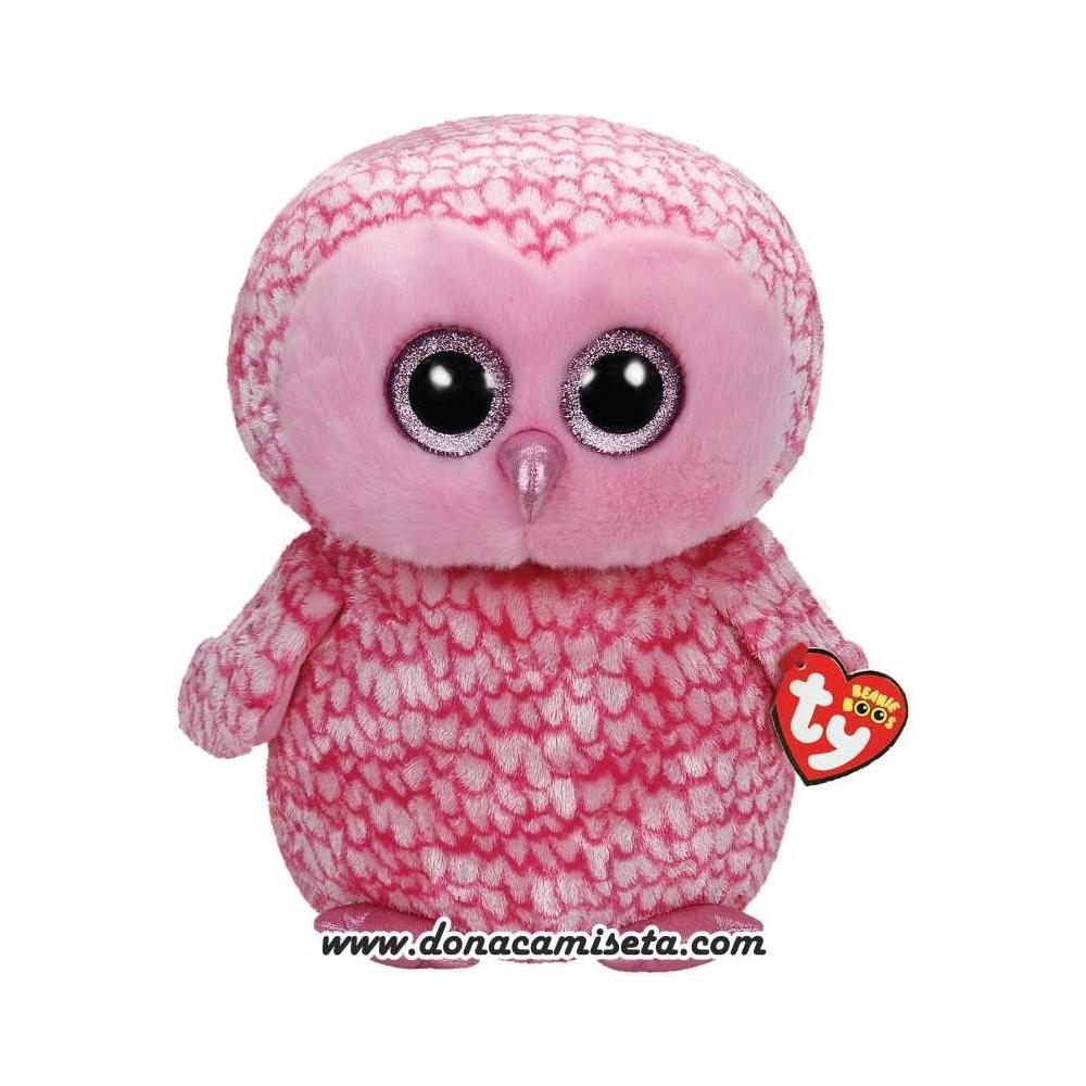 Peluche Buho Pinky Pink 40cm