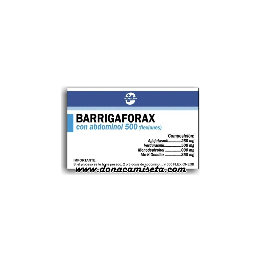 Caja Pastillas caramelos broma Barrigaforax