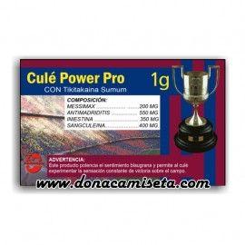 Caja Pastillas caramelos broma Culé Power Pro