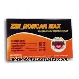 Caja Pastillas caramelos broma Zinroncarmax