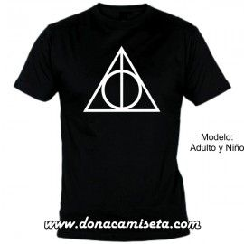 Camiseta MC Reliquias de la Muerte (Harry Potter)