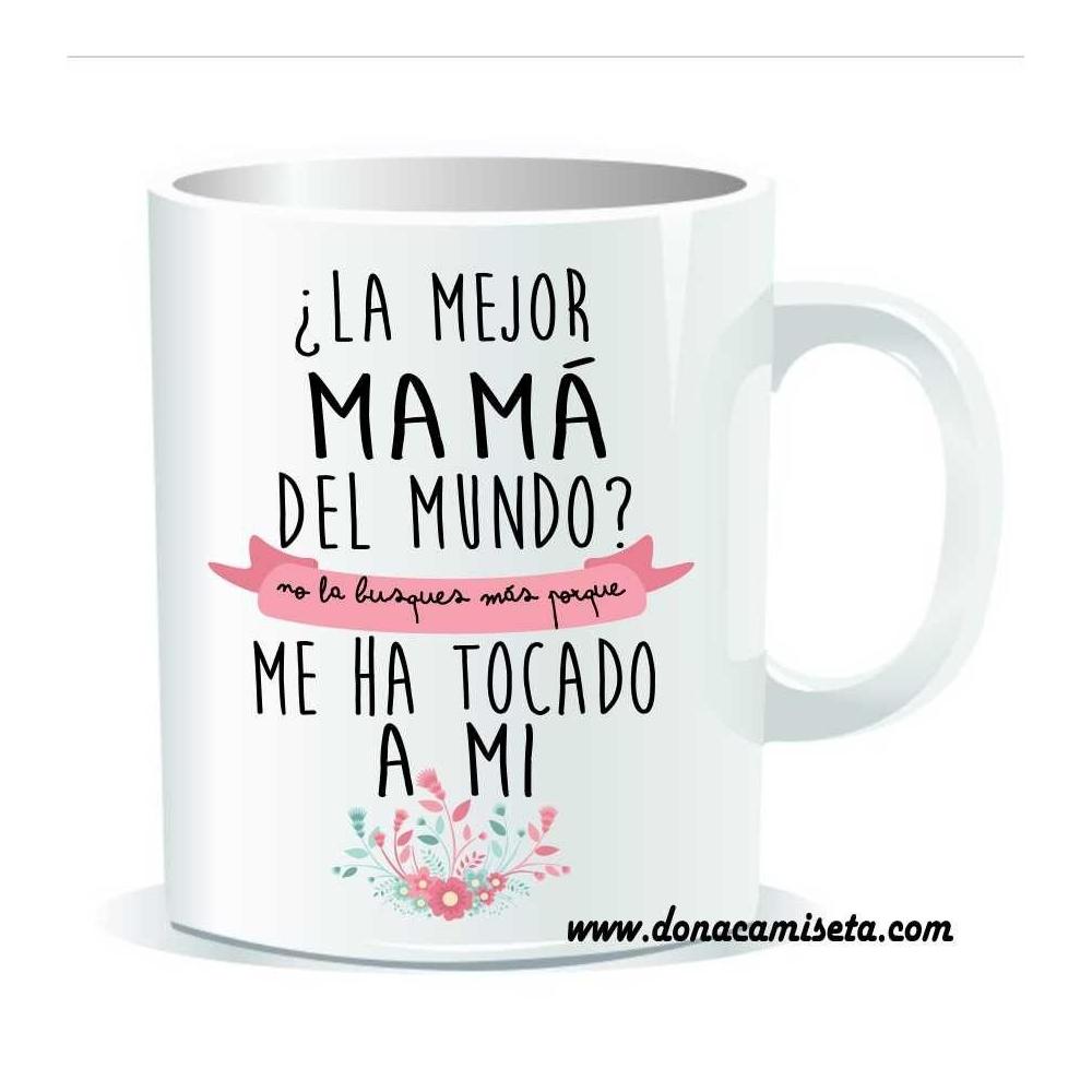 Taza la mejor Mamá del mundo