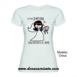 Camiseta Futura campeona lanzamiento de ramo