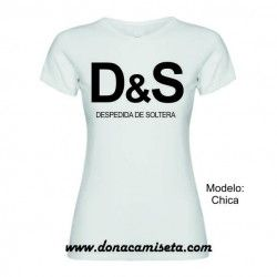 Camiseta MC D&S despedida de soltera