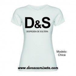 Camiseta MC D&S despedida de soltera