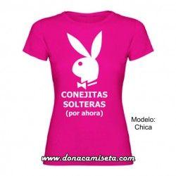 Camiseta MC Conejitas solteras