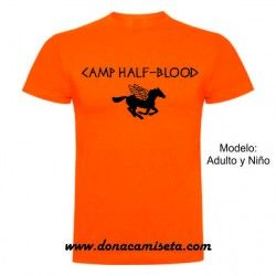 Camiseta MC Camp Half Blood