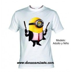 Camiseta MC Minion Pistolas