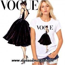 Camiseta Audrey cuerpo Vogue