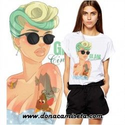 Camiseta Cenicienta Glam