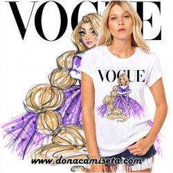 Camiseta Rapunzel Vogue