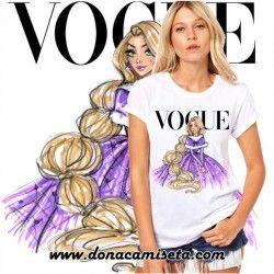 Camiseta Rapunzel Vogue