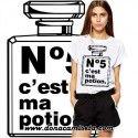 Camiseta Bote perfume Nº5