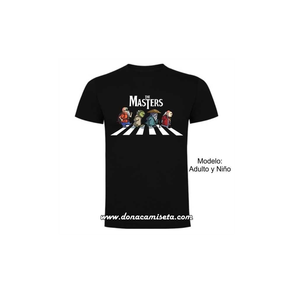 "Camiseta The Masters ""Abbey Road"""