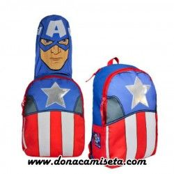 Mochila capucha Capitán América