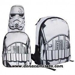 Mochila capucha Stoormtrooper (Star Wars)