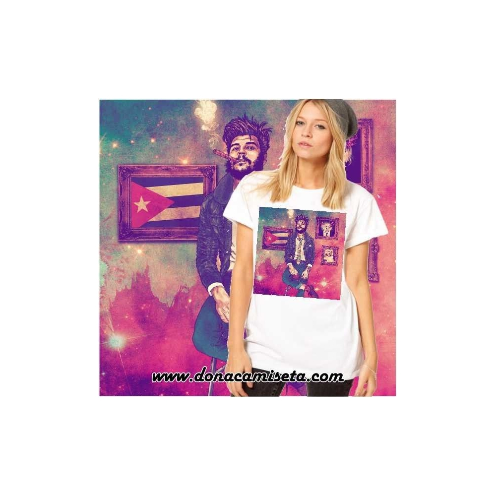 Camiseta el Che colores