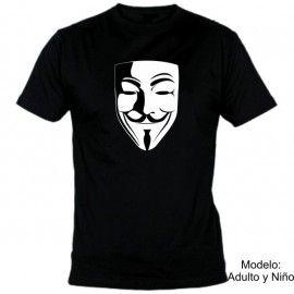 Camiseta MC Unisex Vendetta Careta