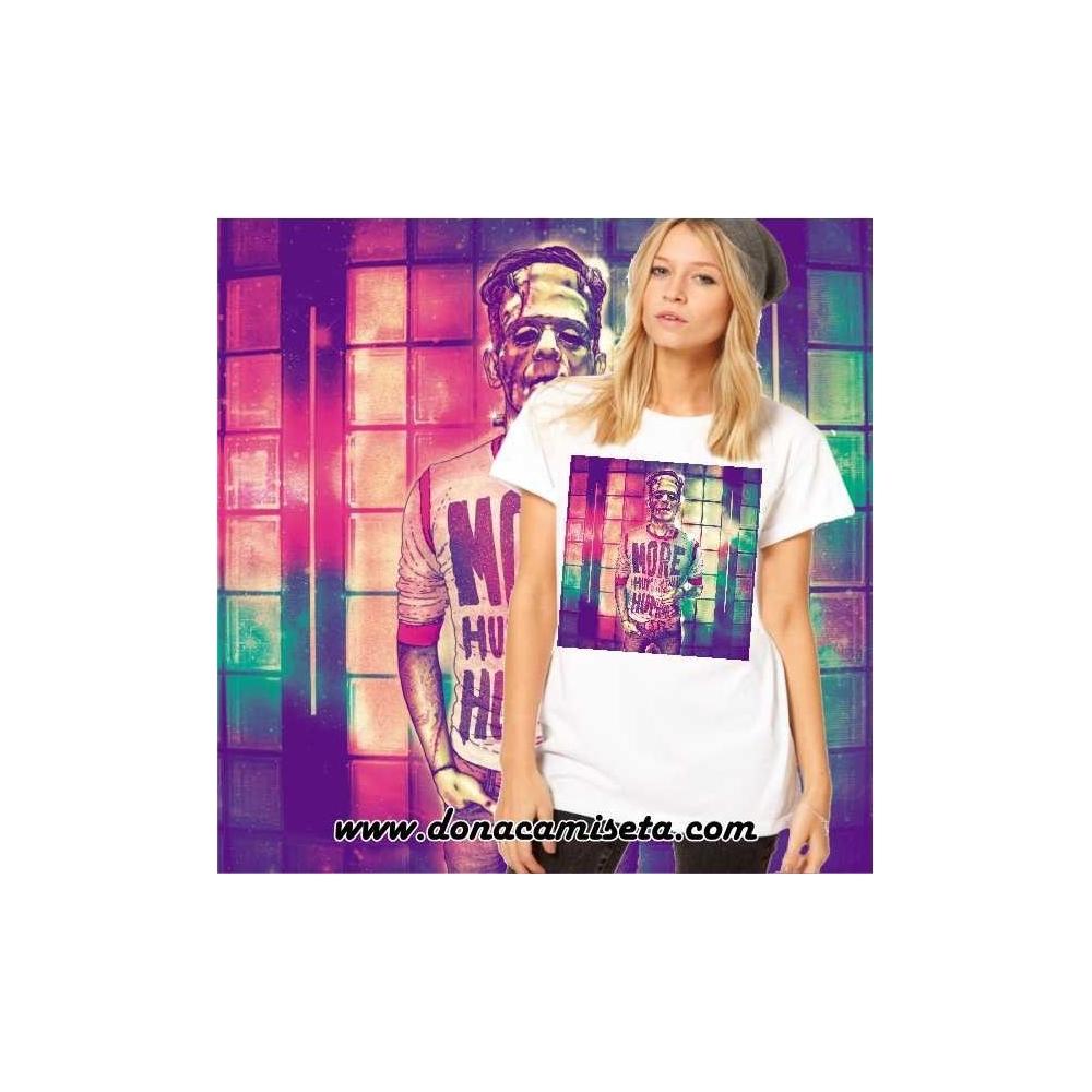 Camiseta Frankenstein colores
