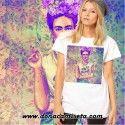 Camiseta Frida colores