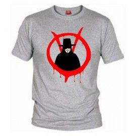 Camiseta MC Unisex Vendetta y V