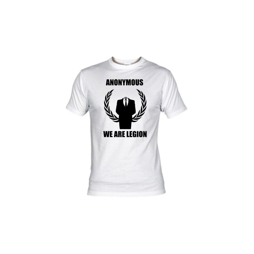 Camiseta MC Unisex Anonimous