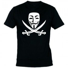 Camiseta MC Unisex Vendetta Pirata