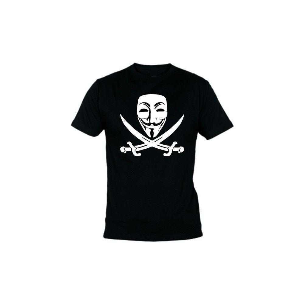 Camiseta MC Unisex Vendetta Pirata