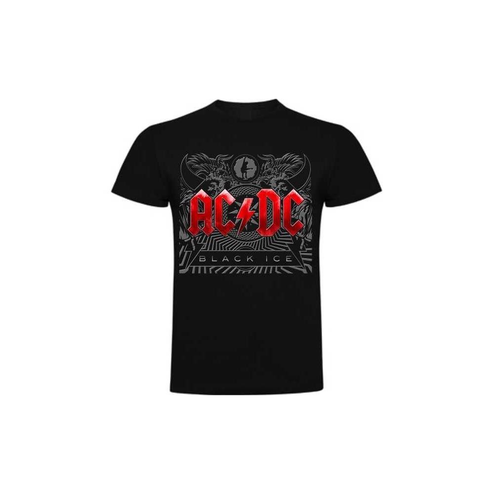 Camiseta ACDC Black Ice