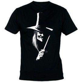 Camiseta MC Unisex Vendetta Gorro
