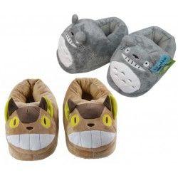 Zapatillas Totoro y Gatobus Cerradas