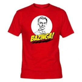 Camiseta Bazinga Sheldon