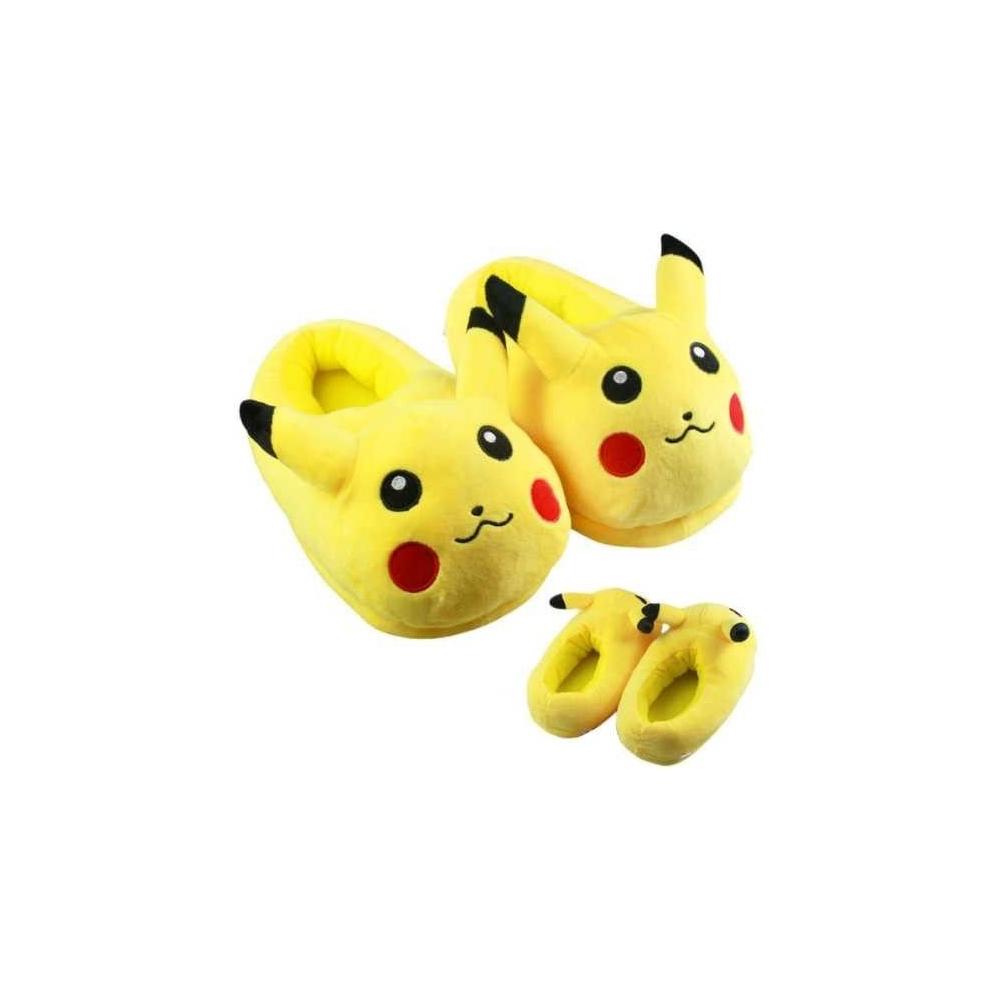 Zapatillas pokemon Pikachu cerradas