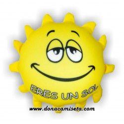 Cojin antiestres Eres un Sol