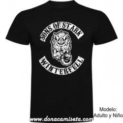 Camiseta Sons of Stark