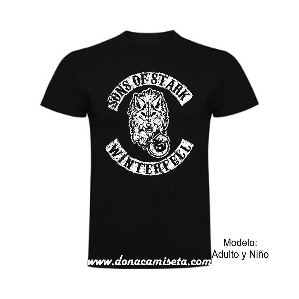 Camiseta Sons of Stark