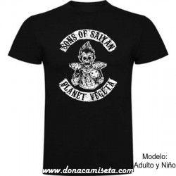 Camiseta Sons of Saiyan